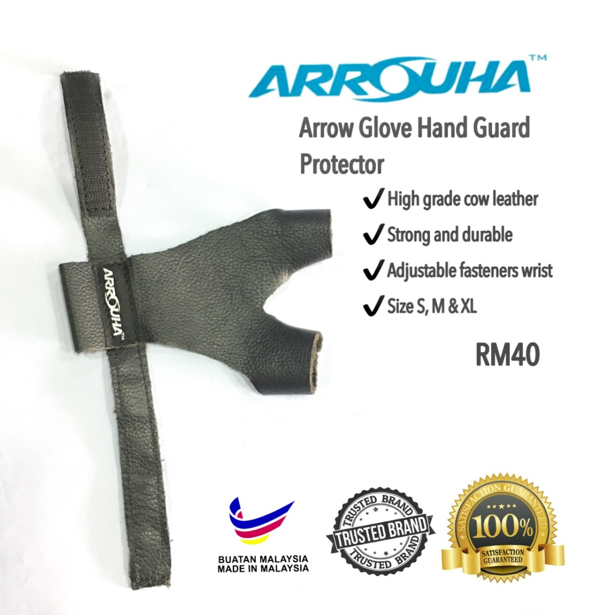 Arrouha™ Arrow Glove Hand Guard Protector